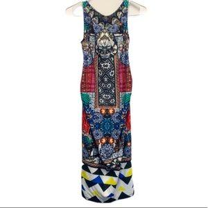ASOS maternity printed dress